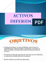 Conta Activos Diferidos