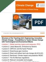 Global warming, basics and measures