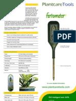 Ferto Productsheet En