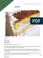Dulciurifeldefel.ro-prajitura Cu Crema de Iaurt