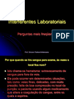 Interferentes Laboratoriais