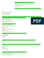 Questões prova SAP-FI - Portugues