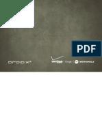 Driod X 2 Manual