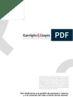 Consultoría en dirección, marketing y recursos humanos.Dosier Garrigós&Llopis