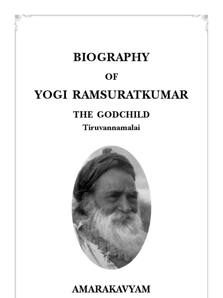 Yogi ramsuratkumar biography yoga guru fandeluxe Images