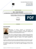 Programme Formation Audrey Huver Aba Niveau 1 Debutants Caen 2013