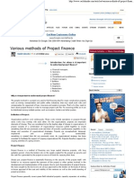 Various methods of Project finance.pdf