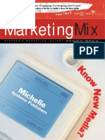 Marketing Mix magazine April/May issue 2007