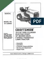 42 Inch Lawn Mower