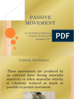 4- Passive Movement