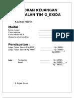Laporan Hasil Penjualan TIM GEXIDA