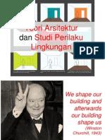 teori arsitektur & perilaku