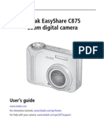 Kodak C875 User's Guide
