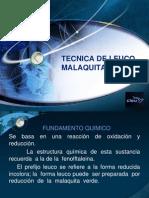 TECNICA DE LEUCO MALAQUITA VERDE.pptx