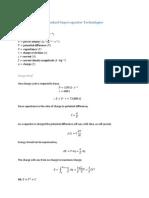 Standard Supercapacitor Technologies