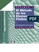 Zienkiewicz-Taylor - El Método de los Elementos Finitos (Vol 1)