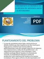 ANÁLISIS DEL CRECIMIENTO ECONÓMICO DEL PERÚ DESDE