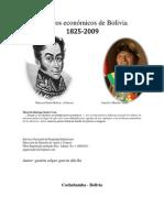 Los Ciclos Economicos de Bolivia 1825 - 2009