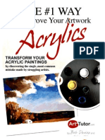 The Number 1 Way to Improve Your Artwork Acrylics Edition.docx Number 1 Way to Improve Your Artwork Acrylics Ed