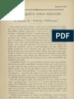 Reclams de Biarn e Gascounhe. - Aoust 1928 - N°11 (32e Anade)