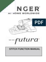 Futura Stitch Function Manual E