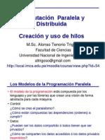 Creación y Uso de Hilos en Programación Paralela