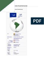 Unión de Naciones Suramericanas
