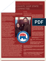 Republican Party of Tulsa County State Committee Members Newsletter - May