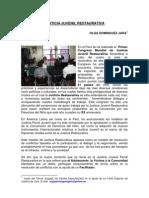 Primer Congreso Mundial de Juzticia Juvenil Restaurativa - Justicia Juvenil Restaurativa