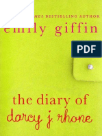 The Diary of Darcy J. Rhone