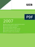 SEB Annual Report 2007