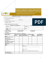 Non-Teaching Application Forms
