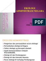 Ekologi Administrasi