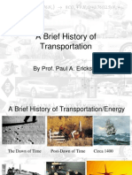 Transportation Brief History