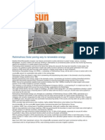 Rahimafrooz Solar Paving Way to Renewable Energy March 22