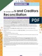 Debtors Reconcialation