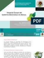 Foro Iberoamericano Sobre Estrategias Para Implementar La Carta Iberoamericana de Gobierno Electronico Experiencia Mexicana