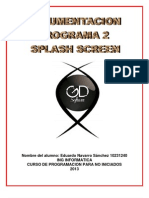Documentacion Para El Programa Splashscreen