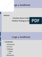 Logs Auditoria