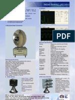 x Band Doppler Radar Training System Dxr10
