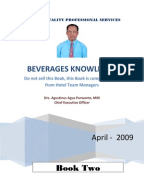 Hierchy Of Food And Beverage Service Department
