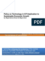 Policy on Technologi in ICT-Implication to Sustainable Economic Growth.pdf