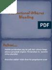 Disfunctional Utherus Bleeding