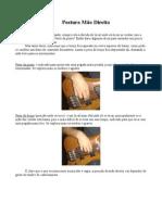 Postura mão direita pdf