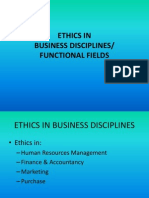 Ethics in Functional Fields