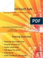 Child-Youth Volunteer Training May 2013