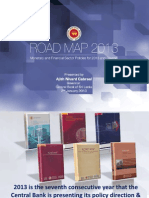 Road Map 2013- Central Bank of Sri Lanka
