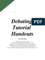 Colm Flynn's Debating Handbook