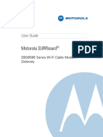 Motorola Surfboard Modem SBG6580