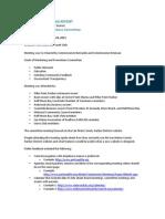 SMCHD Communications Committee REPORT